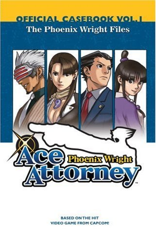 Capcom Phoenix Wright Ace Attorney Official Casebook Volume 1 The Phoenix Wright F