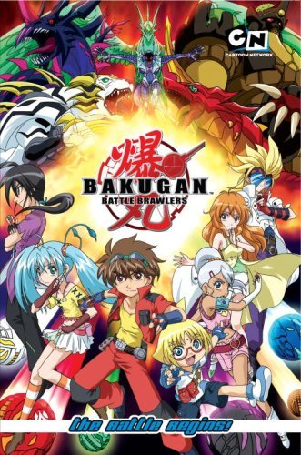Cartoon Network Bakugan Battle Brawlers The Battle Begins!