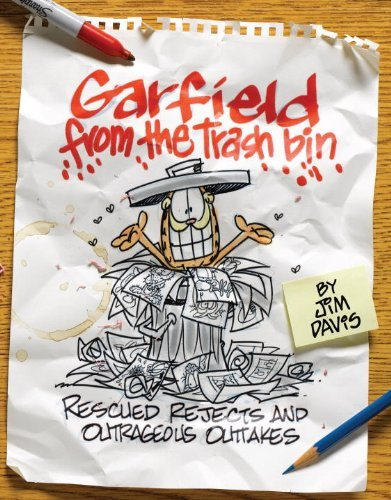 Jim Davis Garfield From The Trash Bin Rescued Rejects And Outrageous Outtakes
