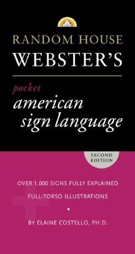 Elaine Costello Random House Webster's Pocket American Sign Langua 0002 Edition;