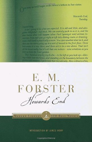 E. M. Forster Howards End