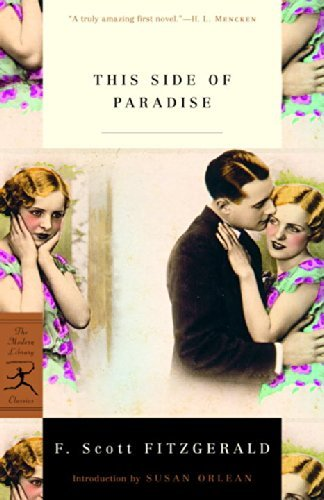F. Scott Fitzgerald This Side Of Paradise