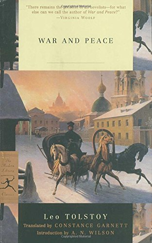 Leo Tolstoy War And Peace