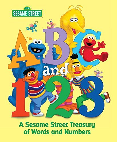 Various Abc And 1 2 3 A Sesame Street Treasury Of Words And Numbers (se