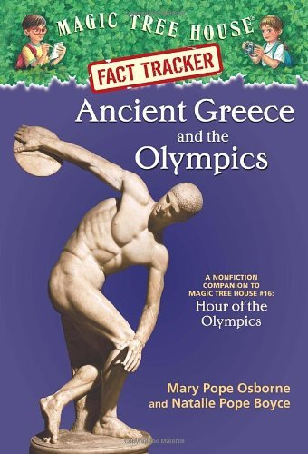 Mary Pope Osborne Magic Tree House Fact Tracker #10 Ancient Greece And The Olympics A Nonfiction Com