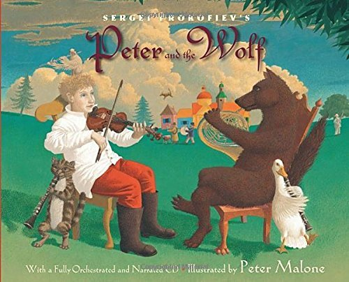 Sergei Prokofiev Sergei Prokofiev's Peter And The Wolf [with CD (au