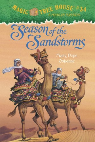 Mary Pope Osborne Season Of The Sandstorms [with Stickers] Magic Tree House #34