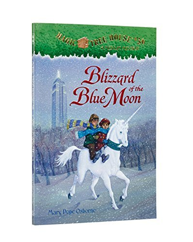 Mary Pope Osborne Blizzard Of The Blue Moon [with Sticker]