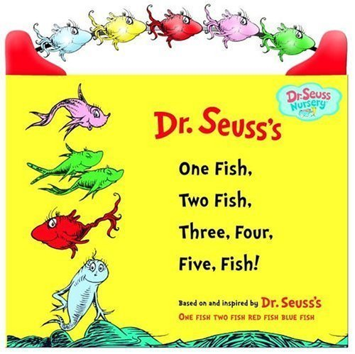 Dr Seuss One Fish Two Fish Three Four Five Fish
