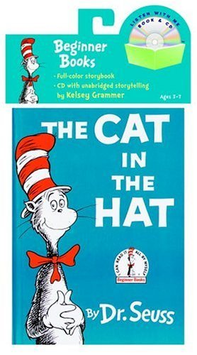 Dr Seuss The Cat In The Hat Book & CD [with Cd]