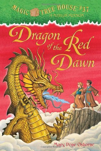 Mary Pope Osborne Dragon Of The Red Dawn [with Temporary Tattoos]