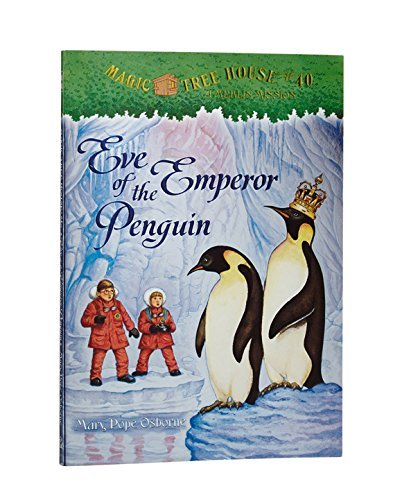 Mary Pope Osborne Eve Of The Emperor Penguin [with Sticker(s)]