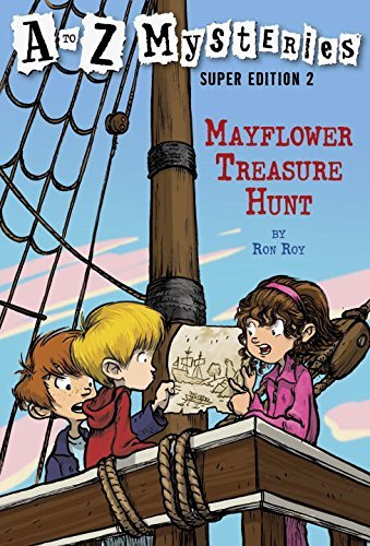 Ron Roy Mayflower Treasure Hunt