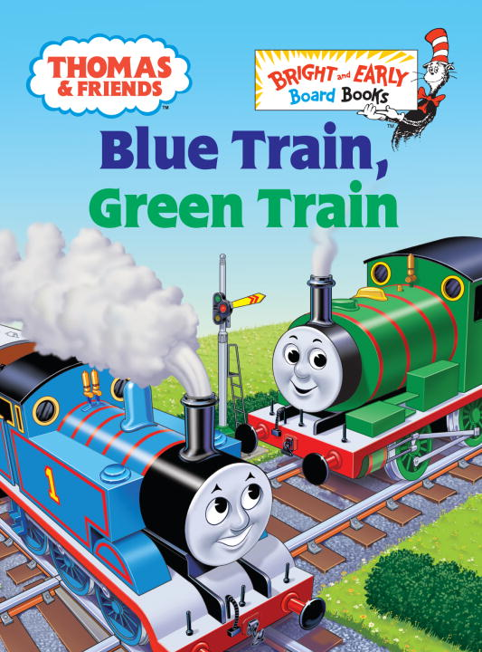 W. Awdry Thomas & Friends Blue Train Green Train (thomas & Friends)