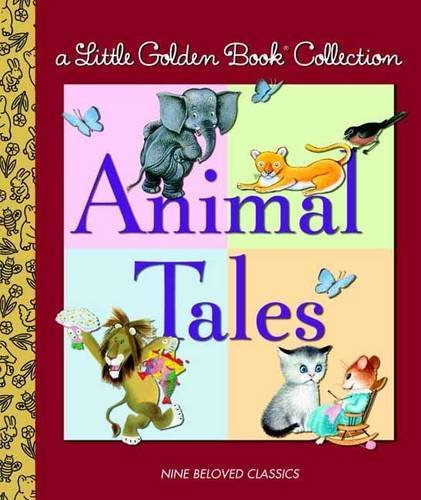 Golden Books Little Golden Collection Animal Tales