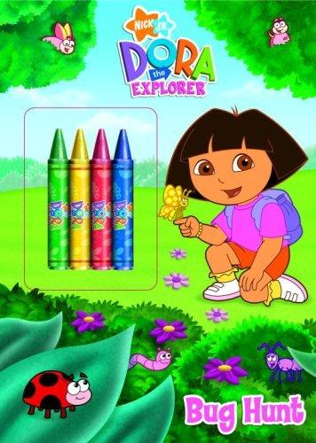 Golden Books Bug Hunt (dora The Explorer) [with Crayons]
