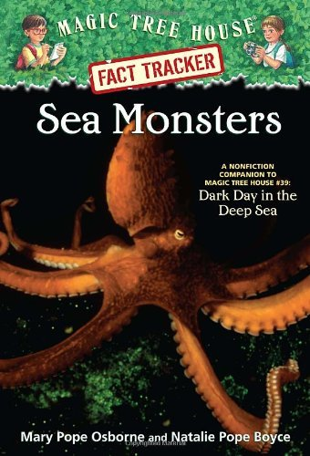 Mary Pope Osborne Sea Monsters A Nonfiction Companion To Magic Tree House #39 D