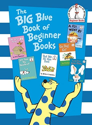 P. D. Eastman The Big Blue Book Of Beginner Books