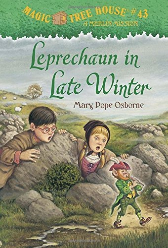 Mary Pope Osborne Leprechaun In Late Winter [with Sticker(s)]