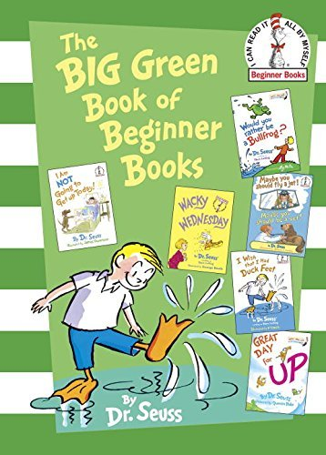 Dr Seuss The Big Green Book Of Beginner Books