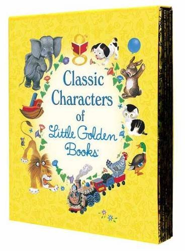 Various Classic Characters Of Little Golden Books