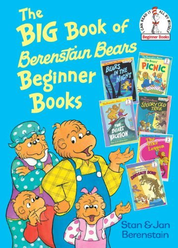 Stan Berenstain The Big Book Of Berenstain Bears Beginner Books