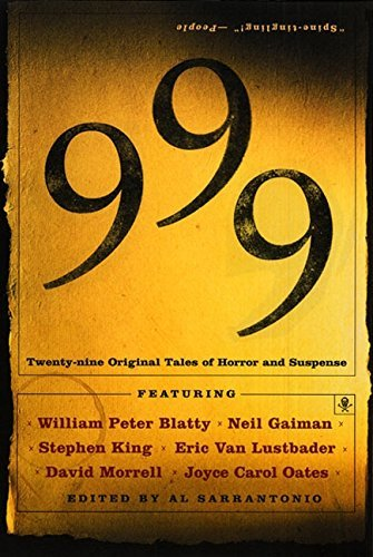 Al Sarrantonio 999 Twenty Nine Original Tales Of Horror And Suspense