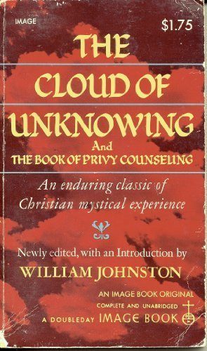 William Johnston The Cloud Of Unknowing And The Book Of Privy Counseling