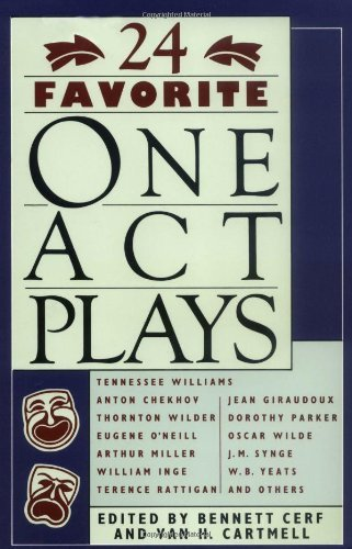 Bennett Cerf 24 Favorite One Act Plays