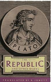 Plato The Republic And Other Works