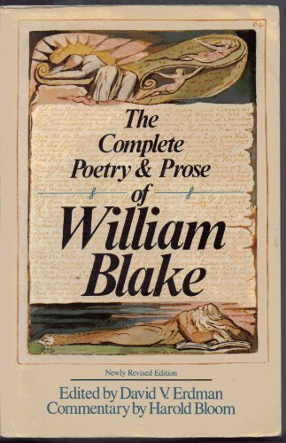 William Blake The Complete Poetry & Prose Of William Blake
