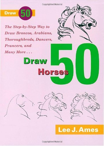 Lee J. Ames Draw 50 Horses