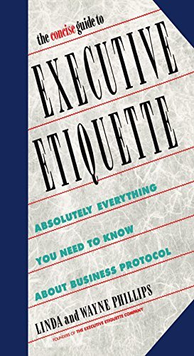 Linda Phillips The Concise Guide To Executive Etiquette