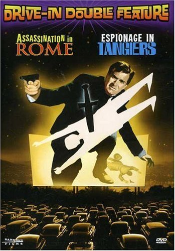 Assasination In Rome Espionage Drive In Double Feature Nr