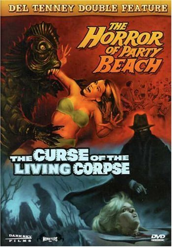 Horror Of Party Beach Curse Of Tenney Del Ws Nr