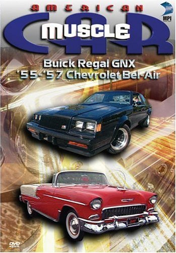 Buick Regal Gnx & 55 57 Chevro American Muscle Car Clr Nr