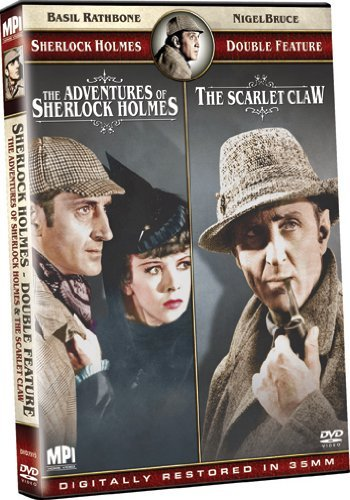 Adventures Of Sherlock Holmes Sherlock Holmes Double Feature Nr