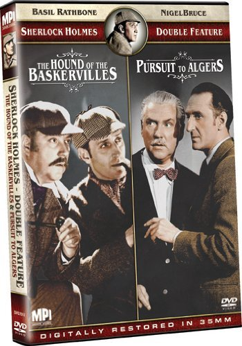 Hound Of The Baskervilles Purs Sherlock Holmes Double Feature Nr