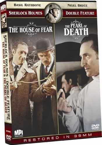House Of Fear Pearl Of Death Sherlock Holmes Double Feature Nr