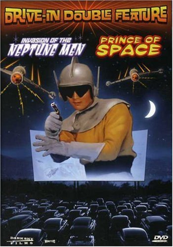Prince Of Space Invasion Of Th Drive In Movie Double Feature Ws Nr