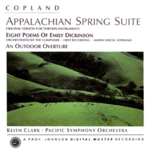 A. Copland Appalachian Spring Dickinsonat Nixon Kanter Riddles Zearott & Clark Pacific So
