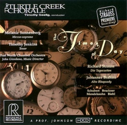 Turtle Creek Chorale Times Of Day Hdcd Turtle Creek Chorale