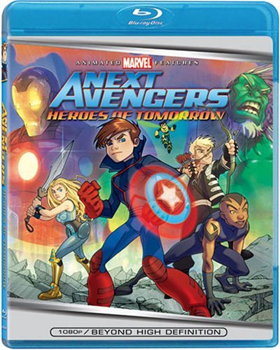 Next Avengers Heroes Of Tomorr Next Avengers Heroes Of Tomorr Blu Ray Ws Pg