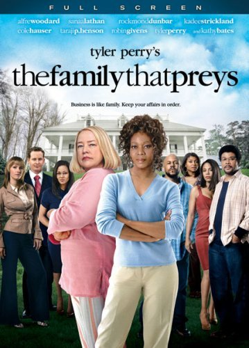 Family That Preys Tyler Perry Woodard Bates DVD Pg13 Fs