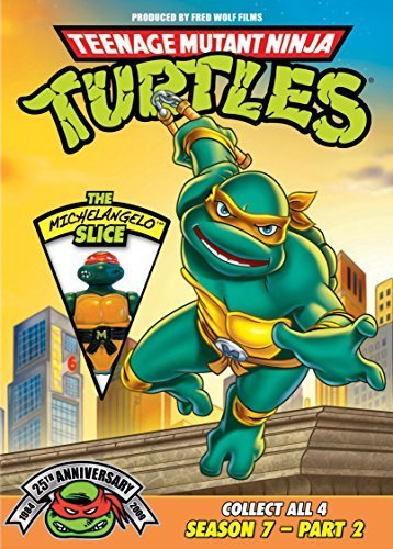 Season 7 Pt. 2 Michelangelo Teenage Mutant Ninja Turtles 25th Anniv. Nr