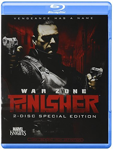 Punisher War Zone Stevenson West Blu Ray Ws R