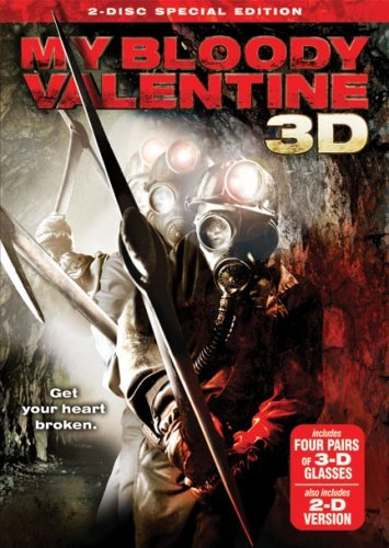 My Bloody Valentine (2009) 3d Ackles King Smith Ws Special Ed. R 2 DVD