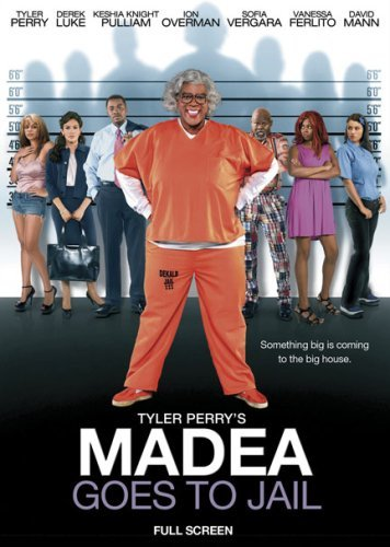 Madea Goes To Jail Tyler Perry DVD Pg13 Fs