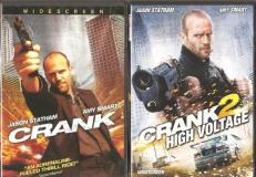 Crank 1 & 2 (jason Statham) Widescreen