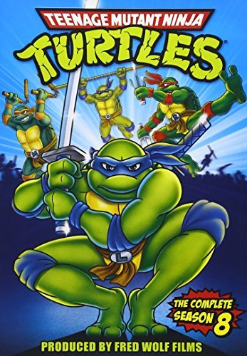 Teenage Mutant Ninja Turtles Season 8 DVD